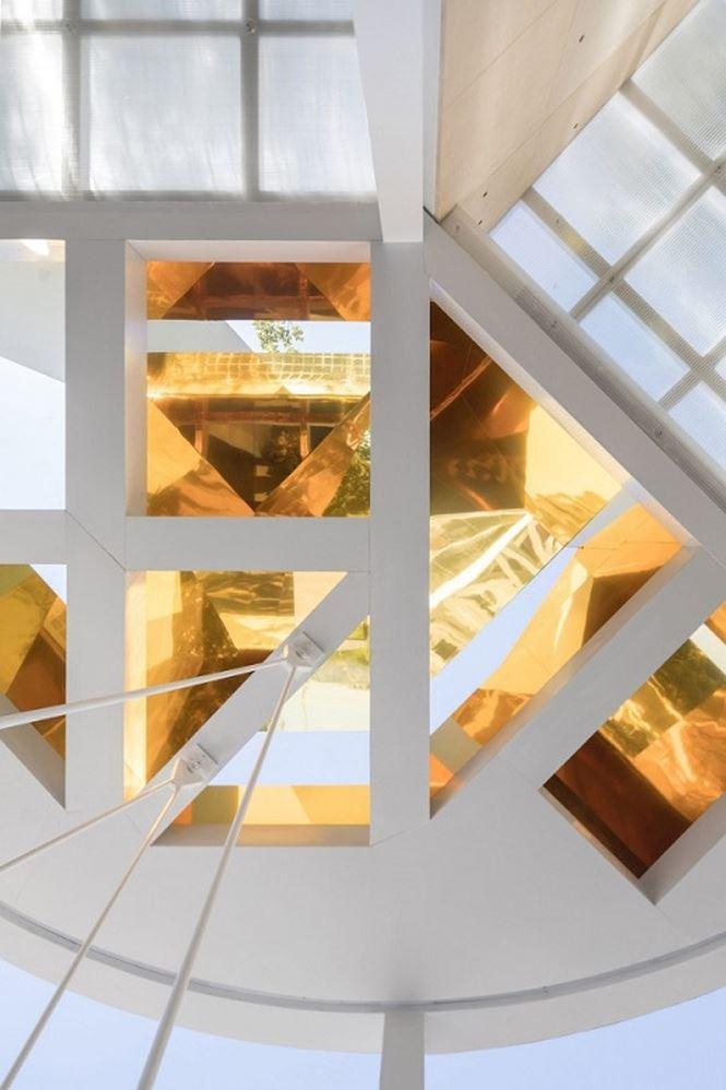 Căn nhà 15m2 thiết kế phá cách đẹp như khách sạn - Ảnh 3