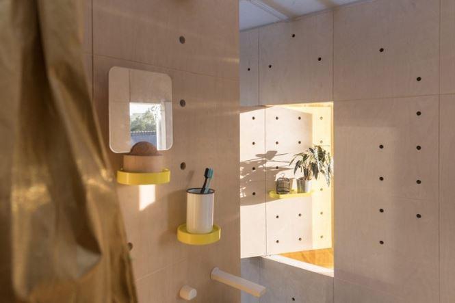 Căn nhà 15m2 thiết kế phá cách đẹp như khách sạn - Ảnh 4