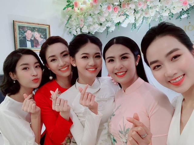 Hoa hậu Ngọc Hân chia sẻ bất ngờ sau lễ ăn hỏi của Á hậu Thanh Tú - Ảnh 1