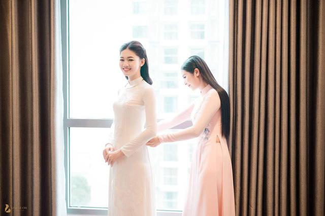 Hoa hậu Ngọc Hân chia sẻ bất ngờ sau lễ ăn hỏi của Á hậu Thanh Tú - Ảnh 2