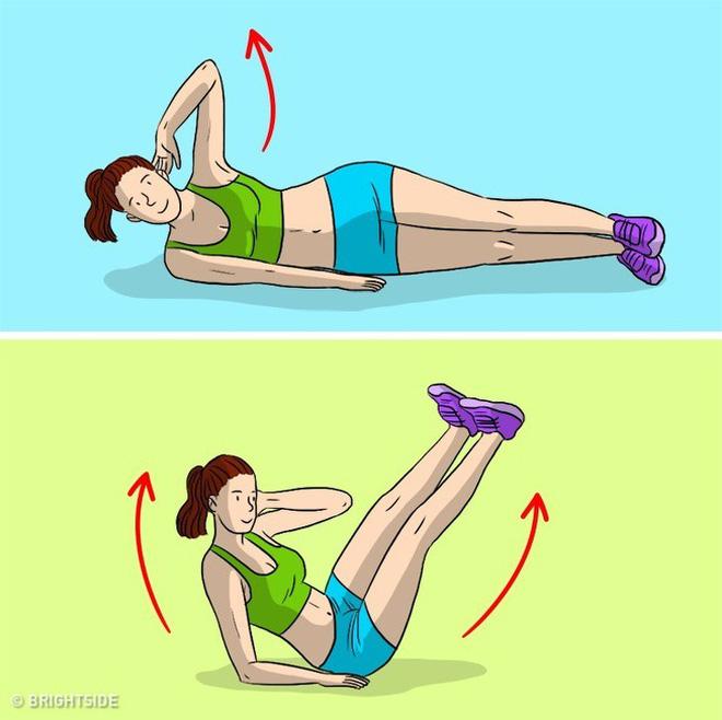 Kế hoạch tập thể dục 3 ngày để loại bỏ chất béo bụng và chuyển đổi cơ thể của bạn - Ảnh 12