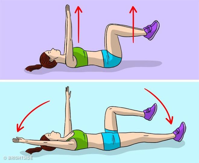 Kế hoạch tập thể dục 3 ngày để loại bỏ chất béo bụng và chuyển đổi cơ thể của bạn - Ảnh 8