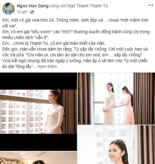 Không phải áo dài trắng, đây là trang phục 'cực độc' Mai Phương Thúy tiết lộ sẽ mặc trong ngày cưới - Ảnh 1