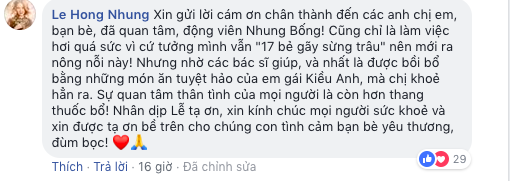 Sau khi nhập viện, cuối cùng Diva Hồng Nhung cũng lên tiếng giữa tin đồn bị chồng Tây phản bội - Ảnh 3
