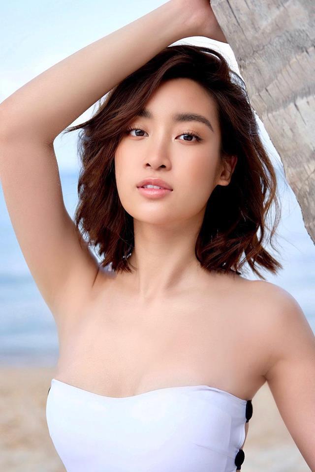 Hoa hậu Đỗ Mỹ Linh diện áo tắm, khoe thân hình gợi cảm chẳng kém cạnh mỹ nhân nào - Ảnh 5