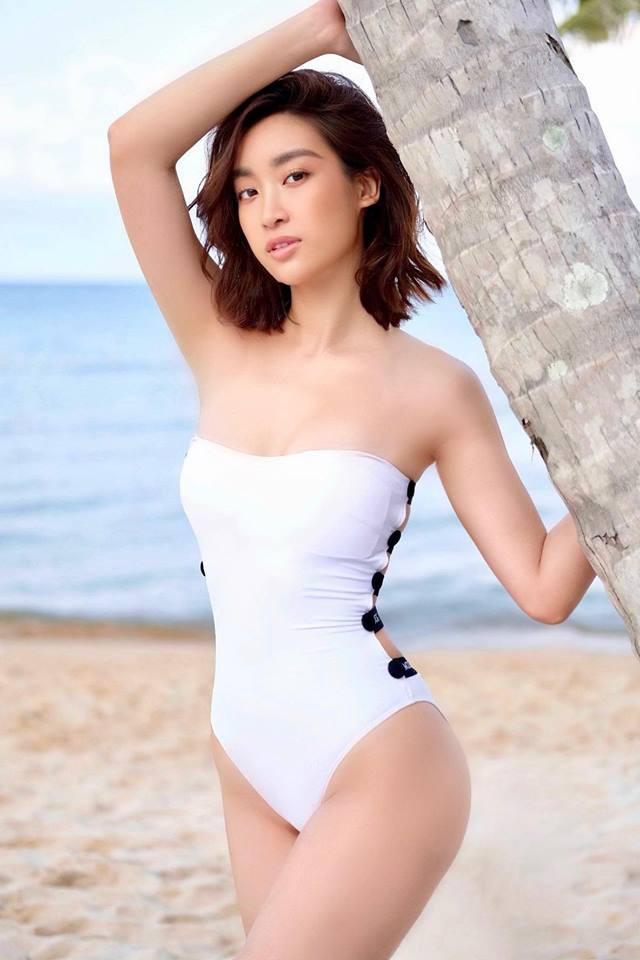 Hoa hậu Đỗ Mỹ Linh diện áo tắm, khoe thân hình gợi cảm chẳng kém cạnh mỹ nhân nào - Ảnh 6
