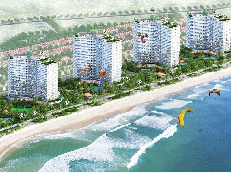 Kiểm tra dự án khu đô thị biển được chuyển đổi từ sân golf - Ảnh 1