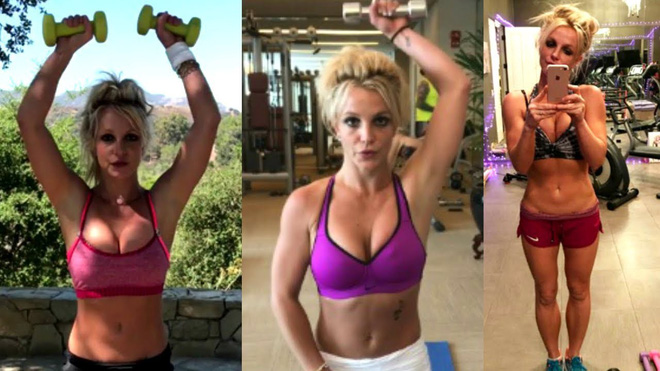 Những phương pháp luyện tập giúp Britney Spears có được thân hình 'chuẩn không cần chỉnh' để lấn sân giới thời trang - Ảnh 4