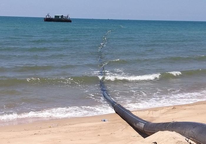 DRH Holdings có gian dối nguồn gốc cát san lấp mặt bằng dự án Lạc Việt? - Ảnh 1