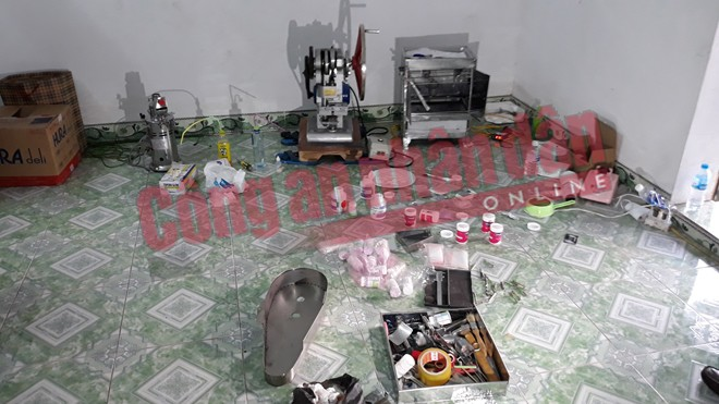 """Triệt phá xưởng"""" sản xuất ma túy Tổng hợp tại Nam Định - Ảnh 2"""