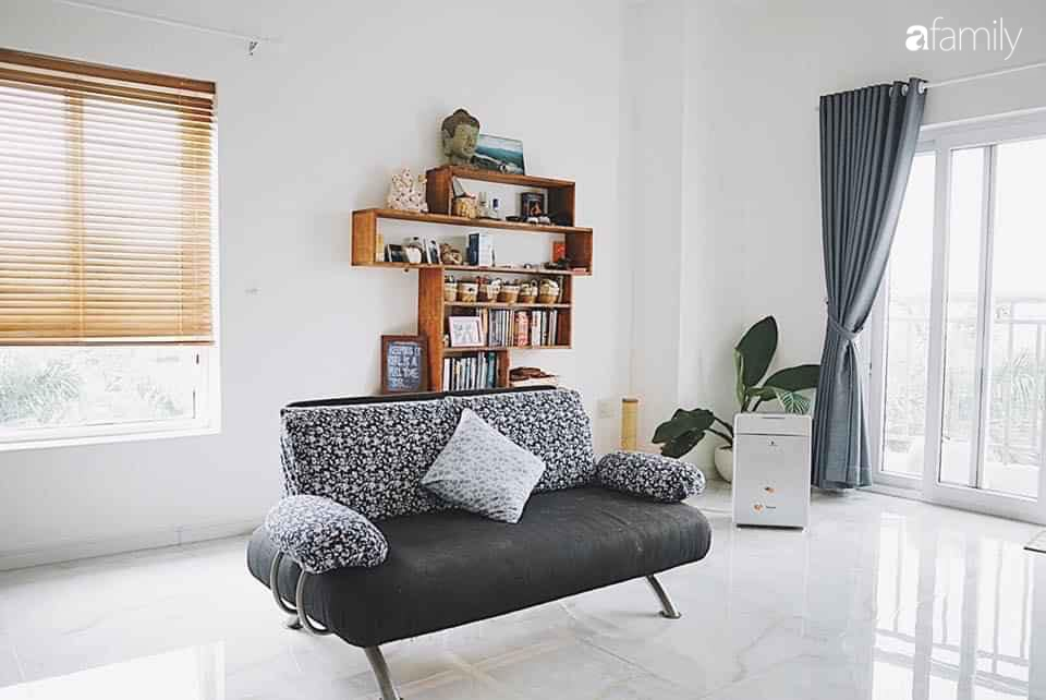 Dù là căn hộ đi thuê nhưng đôi vợ chồng yêu thích sống tự do ở Sài Gòn đã thiết kế nội thất theo phong cách tối giản vô cùng hợp lý lại tiết kiệm - Ảnh 12