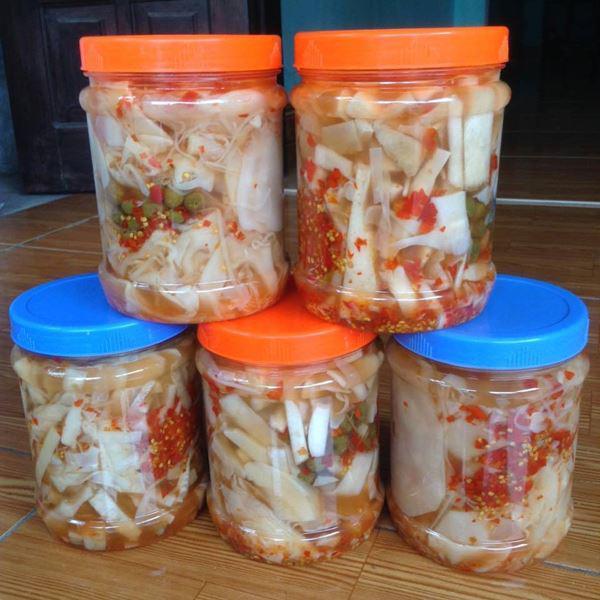 Cách muối măng chua ớt tỏi ngon để được lâu không nổi váng - Ảnh 6
