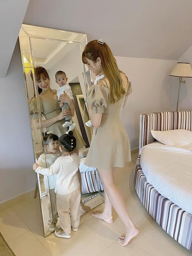 Diệp Lâm Anh kể nỗi khổ khi chụp ảnh cùng các con, mẹ bỉm sữa nào nghe xong cũng đồng cảm - Ảnh 2