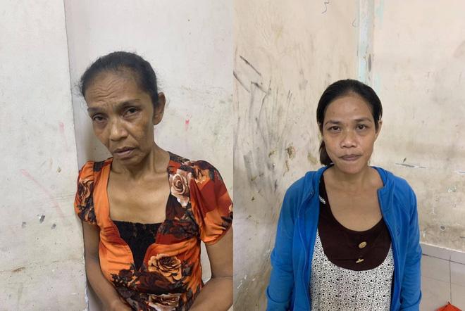 TP.HCM: Bắt giữ 2 'nữ quái' trộm cắp tài sản ở phố Bùi Viện - Ảnh 1