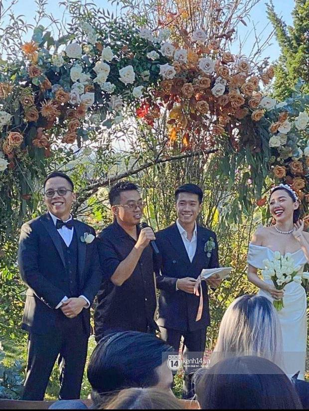 Dậy sóng hình nét căng hiếm hoi trong hôn lễ kín của Tóc Tiên: Nhan sắc cô dâu nổi bật giữa dàn phù dâu toàn hotgirl - Ảnh 3