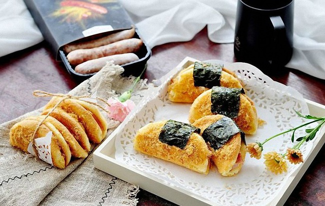 Đổi món cho bữa sáng với bánh kẹp chà bông ngon xuất sắc - Ảnh 7