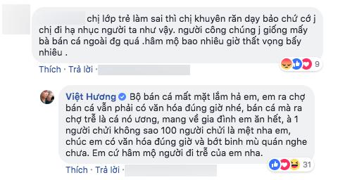 Bị mỉa mai 'chợ búa' giống mấy bà bán cá, Việt Hương đáp trả gay gắt: '100 người chửi là mệt nha' - Ảnh 2