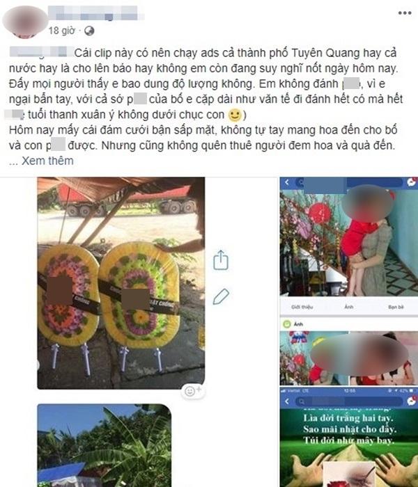 Con gái gửi vòng hoa tang đến đám cưới của bố và nhân tình gây xôn xao MXH - Ảnh 1