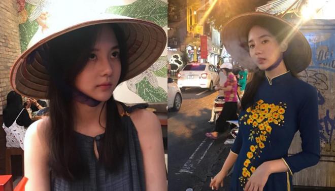 Nghệ sĩ Hàn mặc áo dài hút thuốc lá ở Hà Nội bị khán giả phản đối - Ảnh 1