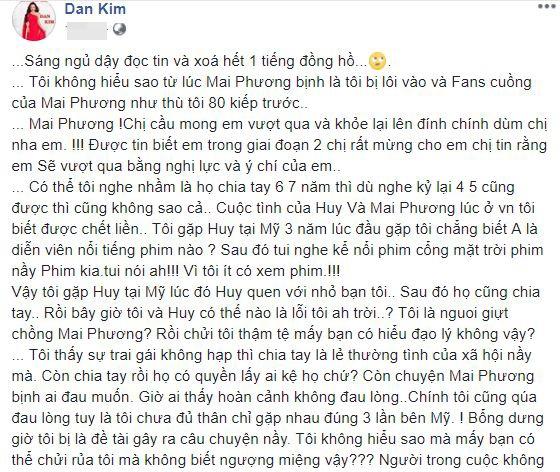 'Tình tin đồn' Phùng Ngọc Huy: 'Fans cuồng của Mai Phương như thù tôi 80 kiếp trước' - Ảnh 1