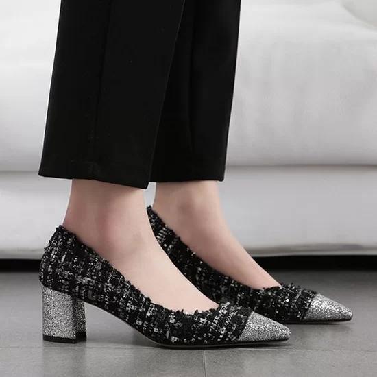 Các kiểu giày đế thấp cho chị em văn phòng - Ảnh 11