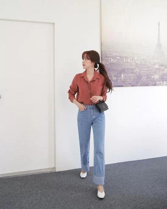 Các kiểu giày đế thấp cho chị em văn phòng - Ảnh 3