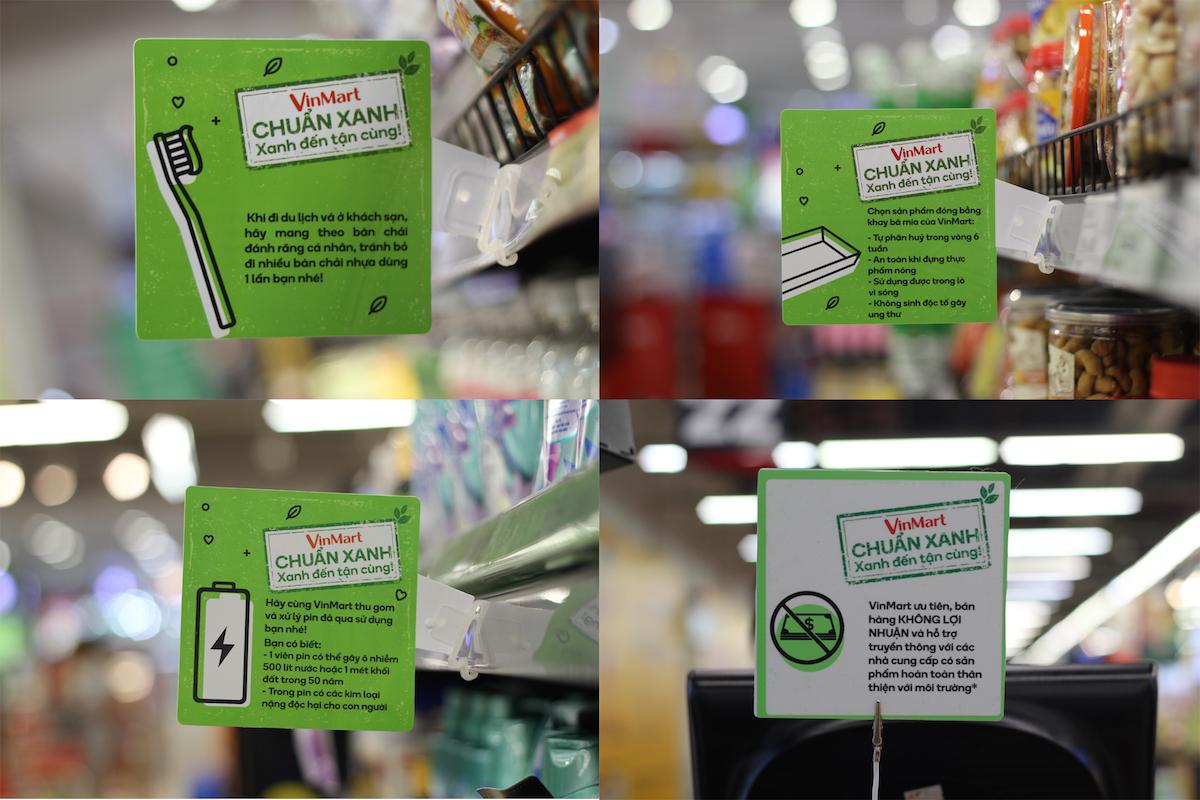 """Chuỗi bán lẻ Việt tự tạo """"siêu thị xanh"""" thay lời nhắn """"bảo vệ môi trường"""" - Ảnh 2"""