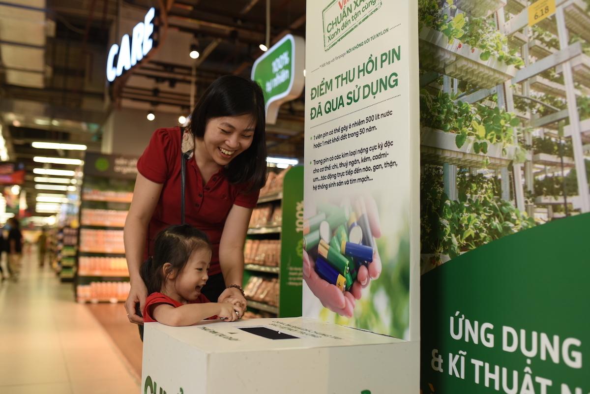 """Chuỗi bán lẻ Việt tự tạo """"siêu thị xanh"""" thay lời nhắn """"bảo vệ môi trường"""" - Ảnh 6"""