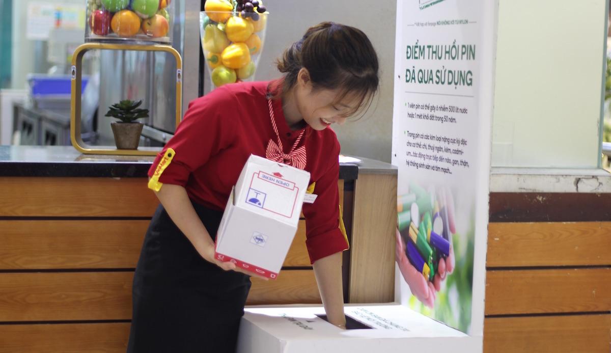 """Chuỗi bán lẻ Việt tự tạo """"siêu thị xanh"""" thay lời nhắn """"bảo vệ môi trường"""" - Ảnh 7"""