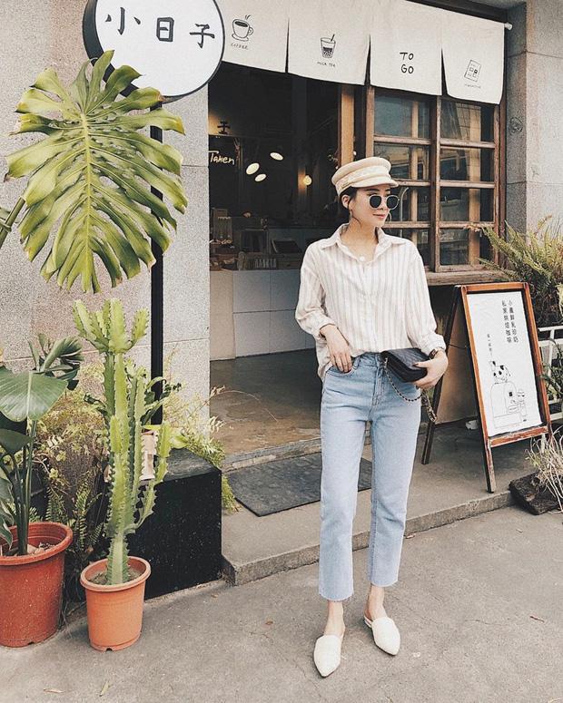 Để tránh bị chê 'không ra thể thống gì' khi diện quần jeans đi làm, nàng công sở chỉ cần nhớ đúng 4 tips - Ảnh 2