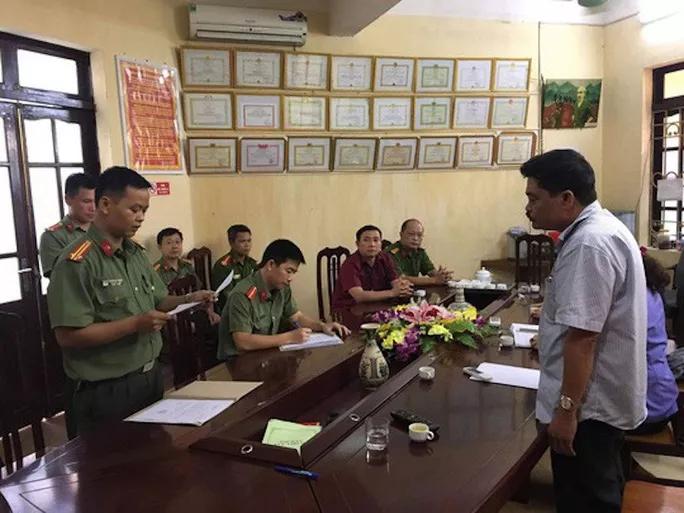 Những diễn biến mới nhất vụ gian lận điểm thi THPT ở Hà Giang - Ảnh 1