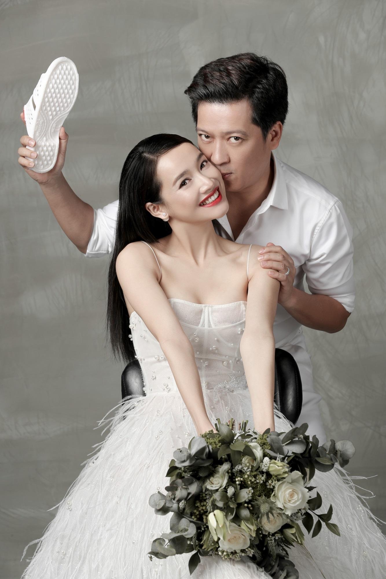 'Rụng tim' khi ngắm trọn bộ ảnh cưới đẹp như tranh vẽ của Trường Giang - Nhã Phương - Ảnh 7