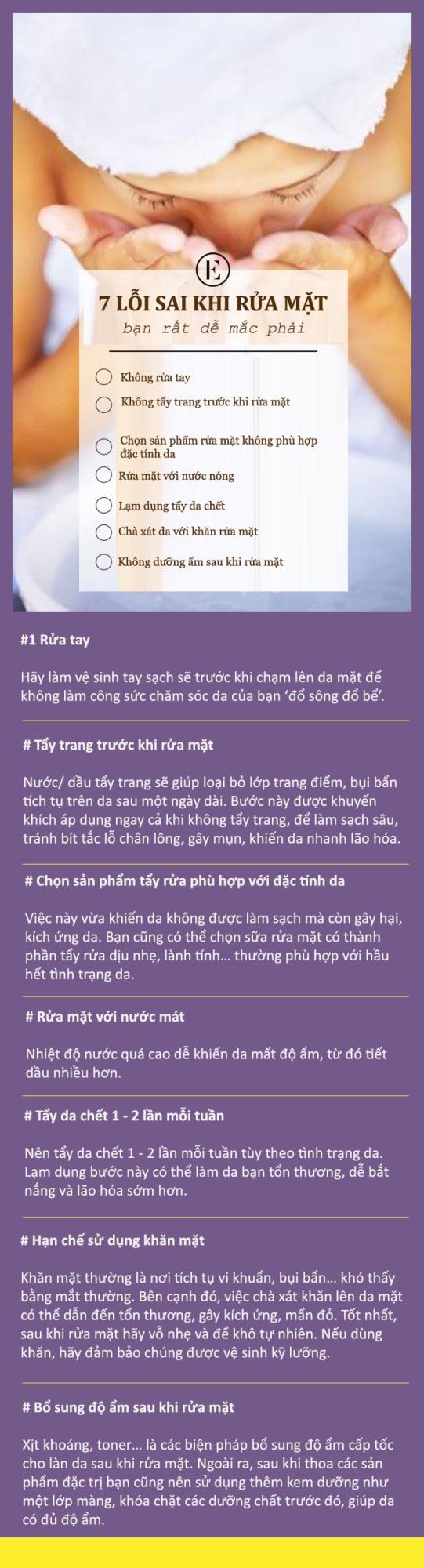 7 lỗi thường gặp khi rửa mặt - Ảnh 1