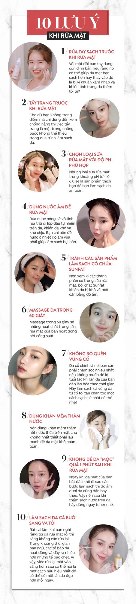 Chăm sóc da mùa hanh khô: 10 lưu ý khi rửa mặt để da luôn bóng khỏe và không bong tróc - Ảnh 1