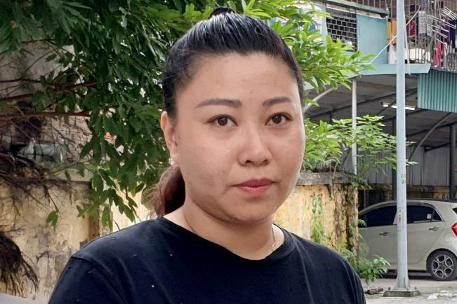 Đề xuất giáng cấp đại úy Hiền - nữ công an gây rối ở sân bay - Ảnh 1