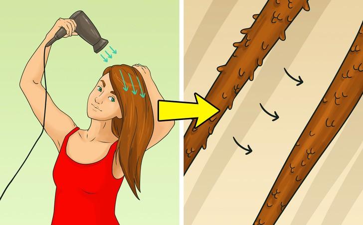 Những sai lầm thường mắc phải khi sấy tóc - Ảnh 2