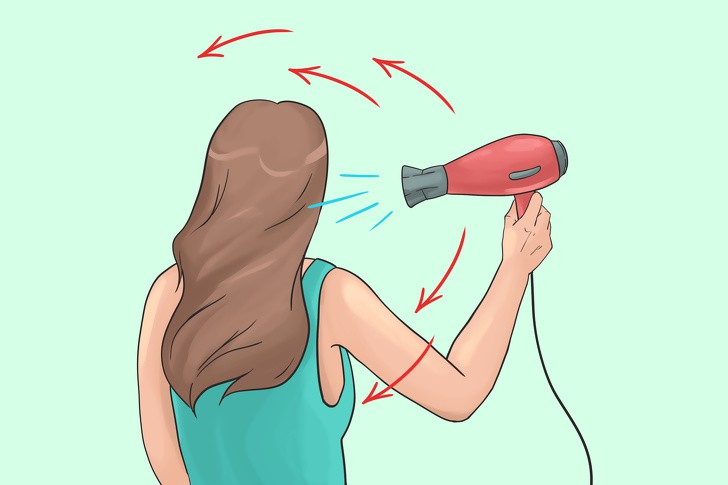 Những sai lầm thường mắc phải khi sấy tóc - Ảnh 14