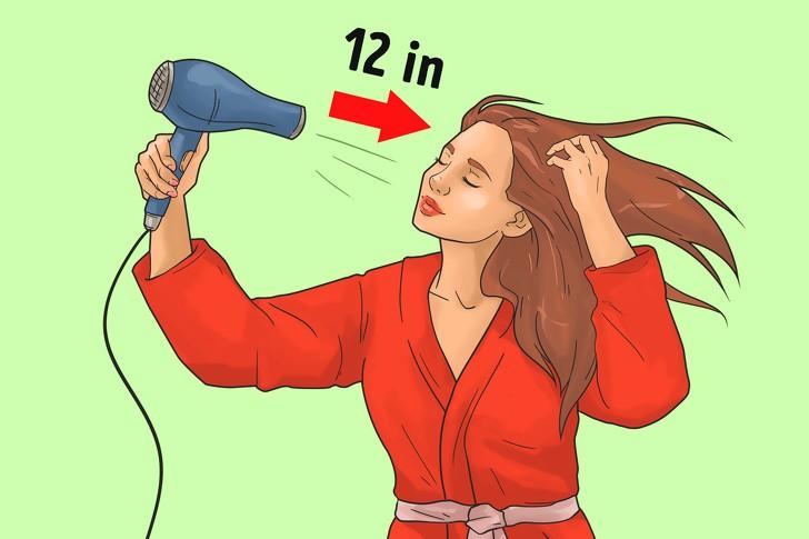 Những sai lầm thường mắc phải khi sấy tóc - Ảnh 5