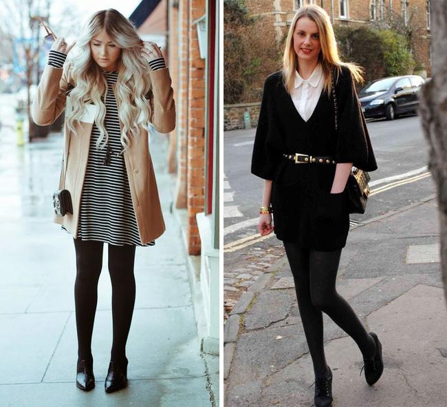 6 kiểu phục trang giúp chị em vừa trẻ trung, năng động mà lại không lo bị lạnh trong ngày trở gió - Ảnh 2