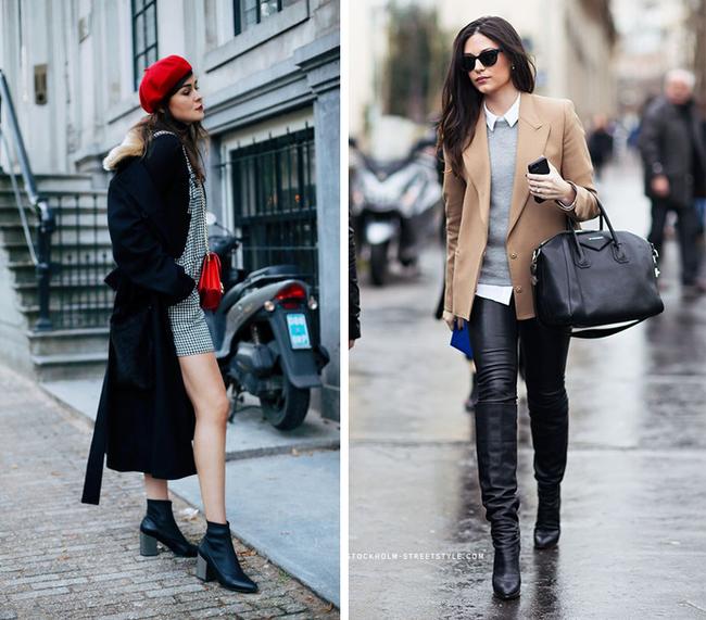 6 kiểu phục trang giúp chị em vừa trẻ trung, năng động mà lại không lo bị lạnh trong ngày trở gió - Ảnh 3