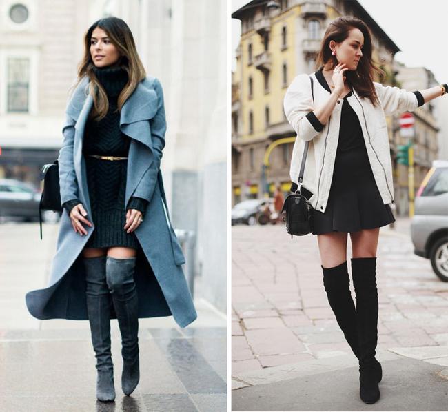 6 kiểu phục trang giúp chị em vừa trẻ trung, năng động mà lại không lo bị lạnh trong ngày trở gió - Ảnh 4