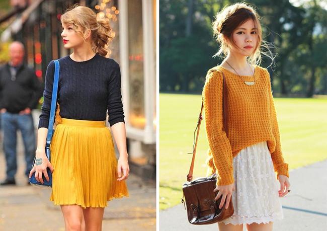 6 kiểu phục trang giúp chị em vừa trẻ trung, năng động mà lại không lo bị lạnh trong ngày trở gió - Ảnh 5
