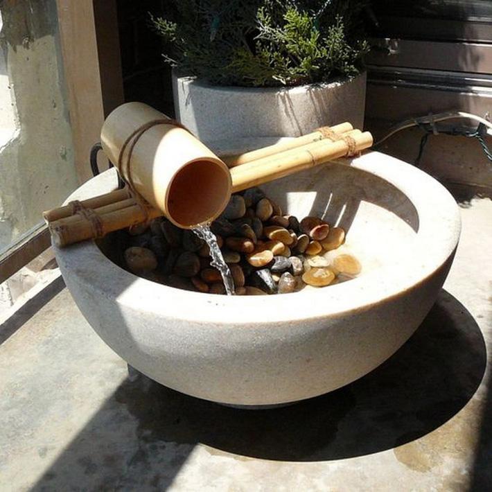12 cách tự chế thác nước nhân tạo cho vườn nhà đón Tết siêu đẹp mà không mất quá nhiều tiền - Ảnh 3