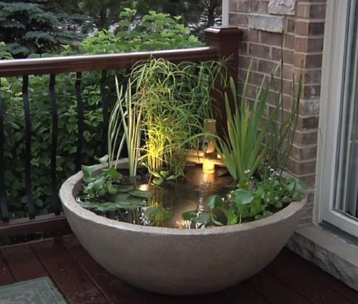 12 cách tự chế thác nước nhân tạo cho vườn nhà đón Tết siêu đẹp mà không mất quá nhiều tiền - Ảnh 5