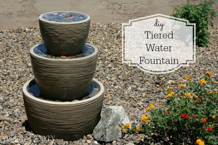 12 cách tự chế thác nước nhân tạo cho vườn nhà đón Tết siêu đẹp mà không mất quá nhiều tiền - Ảnh 9