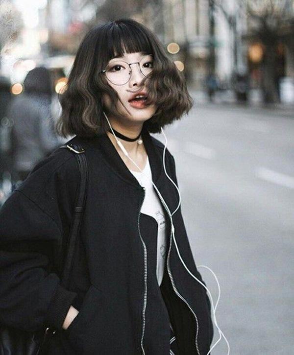 10 kiểu tóc ngắn Hàn Quốc xinh xắn cho nàng chơi Tết - Ảnh 5