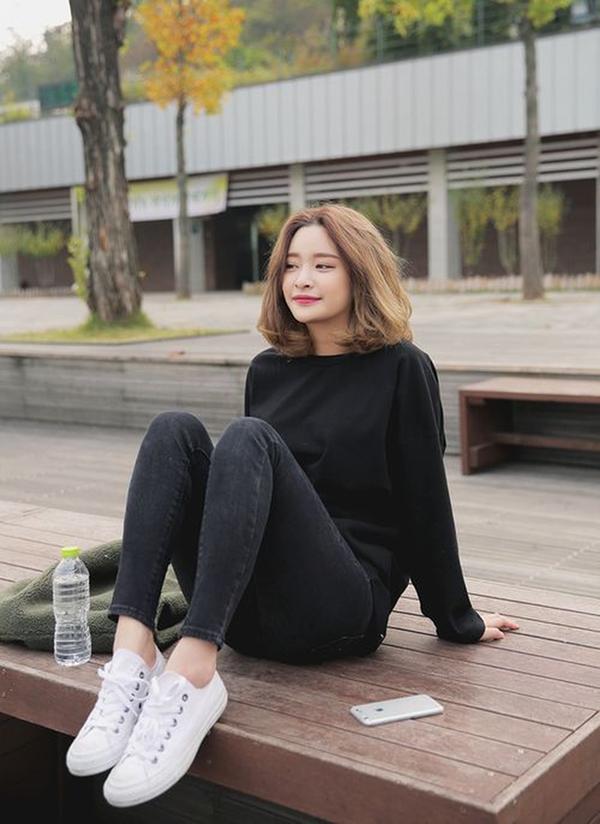 10 kiểu tóc ngắn Hàn Quốc xinh xắn cho nàng chơi Tết - Ảnh 7
