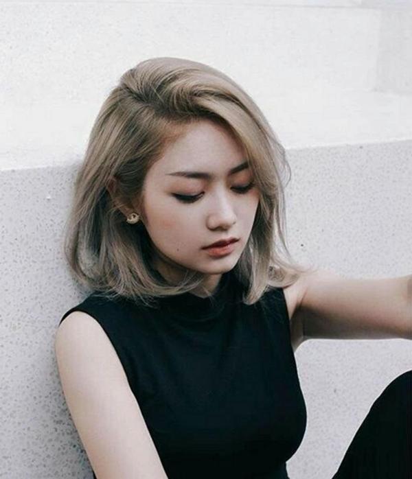 10 kiểu tóc ngắn Hàn Quốc xinh xắn cho nàng chơi Tết - Ảnh 8