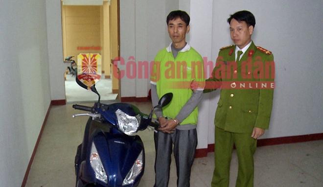 Bắt tên cướp ngân hàng ở Thái Bình, thu hồi gần 200 triệu đồng - Ảnh 1