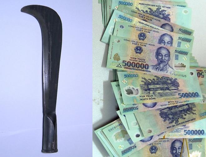 Bắt tên cướp ngân hàng ở Thái Bình, thu hồi gần 200 triệu đồng - Ảnh 2